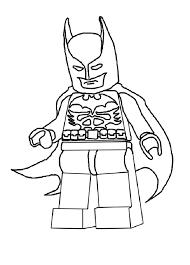 simple lego batman coloring pages kids 875 lego batman