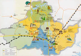 Montana City Map by Maps Of Huangshan City Sights In Huangshan City Huangshantour