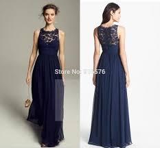 aliexpress com buy lace chiffon bridesmaid dresses scoop neck