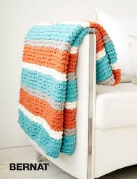 freshen up your home decor with this vibrant throw blanket knit
