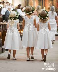 flower girl wedding the best dressed flower from real weddings martha stewart