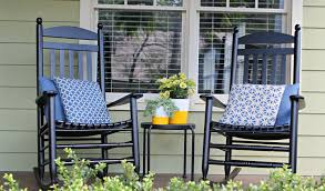 Modern Front Porch Decorating Ideas Furniture Beautiful Front Porch Decoration With Black Wooden