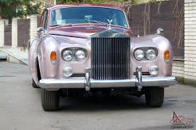 roll royce pink royce silver cloud iii 1965 4 door sedan pink cherry red