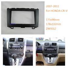 jiuscan car stereo radio fascia panel for honda crv 2007 2011 car