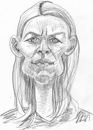 pencil sketch caricatures of famous people celebrities and politicans