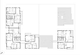 barcelona pavilion floor plan dimensions housing in gennevilliers christophe rousselle architects