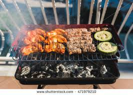 balcony barbecue stock images royalty free images u0026 vectors