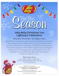jelly belly christmas tree lighting u0026 celebration milwaukee365 com