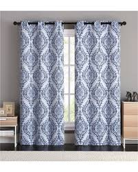 Ruffle Blackout Curtains Deal Alert Vcny London Blackout Curtain Panel Pair 84 Inches