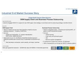 Oem 190 607 by Wesco International Wcc Investor Presentation Slideshow