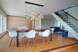 Dining Room Light Fixtures Contemporary Artistic Light Fixture Dining Room Contemporary With