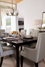 black lacquer dining room chairs black lacquered dining table transitional dining room valerie