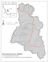 Montana River Map by Montana Tmdl Development Projects Upper Clark Fork Phase 2