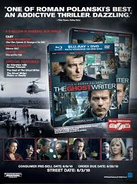 Movie The Ghost Writer The Ghost Writer Brings The Mystery To Dvd And Blu Ray On August