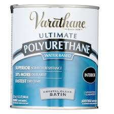 Water Based Interior Paint Varathane 1 Qt Clear Satin Water Based Interior Polyurethane 2