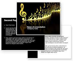 modern music powerpoint template with modern music powerpoint