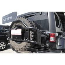 spyder jeep poison spyder jk body mounted tire carrier murchison products