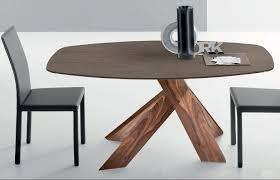 tavolo ovale legno tavolo moderno in legno ovale allungabile mo縲 by arter