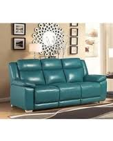 Leather Reclining Sofa Slash Prices On Riley Top Grain Leather Reclining Sofa