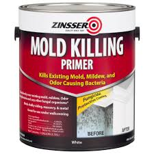 zinsser 1 gal mold killing primer case of 2 276049 the home depot