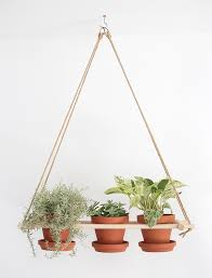 White Hanging Planter by This Diy Wood Hanging Planter Is The Perfect Project For Those