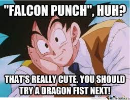 Falcon Punch Meme - falcon punch huh by 00zero00 meme center