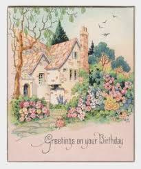 how wonderfully pretty vintage birthday cards vintage