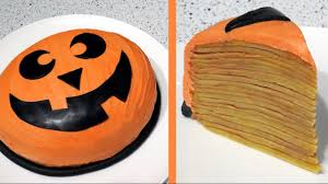 Halloween Pumpkin Cake Recipe by
