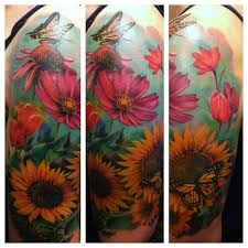 floral tattoos design and ideas inkdoneright com