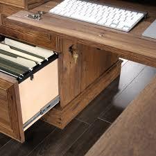 sauder 420606 palladia l desk vo a2 computer vintage oak palladia l shaped desk 420606 sauder