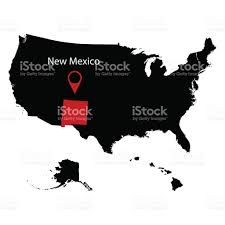 State Of New Mexico Map by Map Of The Us State Of New Mexico Stock Vector Art 694944402 Istock