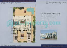 semi detached townhouses floor plans justproperty com