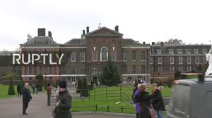 live live from kensington palace as prince harry and meghan