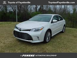 limited toyota 2017 new toyota avalon limited at toyota of fayetteville serving