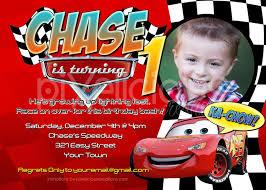 disney cars birthday invitations reduxsquad com