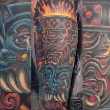 paying homage to aztec gods with pedro alvarez tattoodo