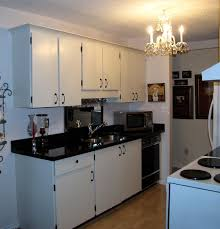 Low Priced Kitchen Cabinets Galley Kitchen After Low Budget Traditional Kitchen