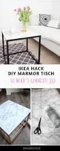 Esszimmertisch Mit Marmorplatte Diy Beistelltisch Mit Marmorplatte Ikea Hack Selbst Bauen Möbel