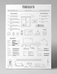 curriculum vitae minimalist design packaging area layout a designer s quirky minimalist infographic style résumé