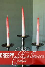creepy diy halloween candlesticks the v spot