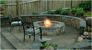 backyard firepit seating home outdoor decoration
