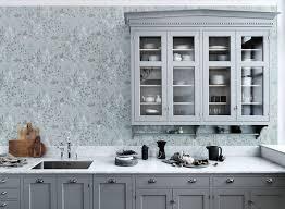 papier peint cuisine lavable papier peint lavable cuisine idées décoration intérieure