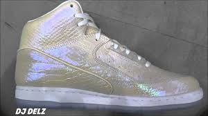 nike air python pearl sneaker review with djdelz youtube