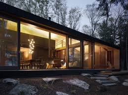 Home Design Interior And Exterior Sophisticated Cottage House In Canada Lavish Clear Lake Cottage