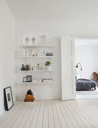 Laminate Flooring On Walls Beautiful In Simplicity Apartment Of Swedish Showcasing Chevron