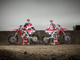 ama motocross sign up solid rider line up for honda in ama motocross 2015