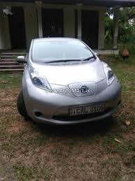 nissan leaf x grade options automart lk registered used nissan leaf car for sale at
