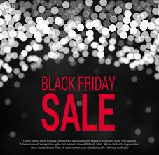 adobe black friday sale black friday banner with dark blurred sparkle background free