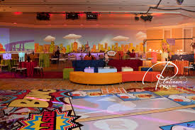 Superman Decoration Ideas by Dance Floor Pick Of The Week Custom Event Productions