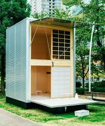 muji tiny prefab vacation house design